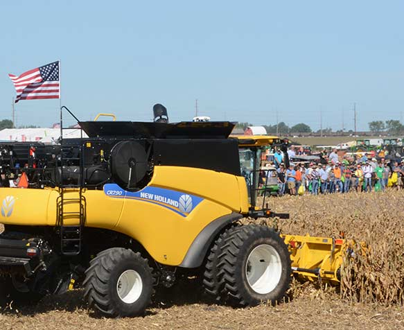 New Holland Field Demo at the Farm Progress Show