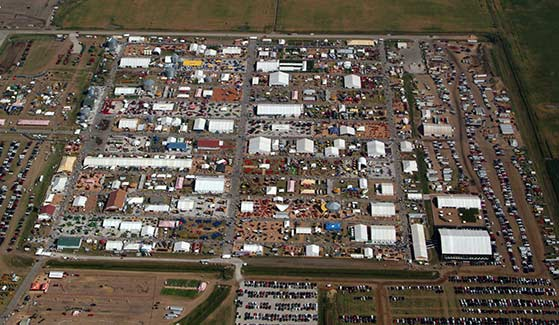 Farm Progress Show 2013 Aerial View