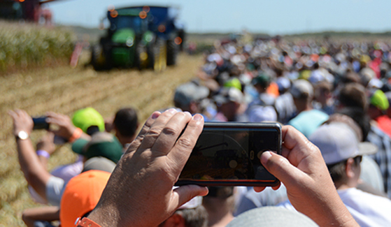 Farm Progress Show Mobile Texts
